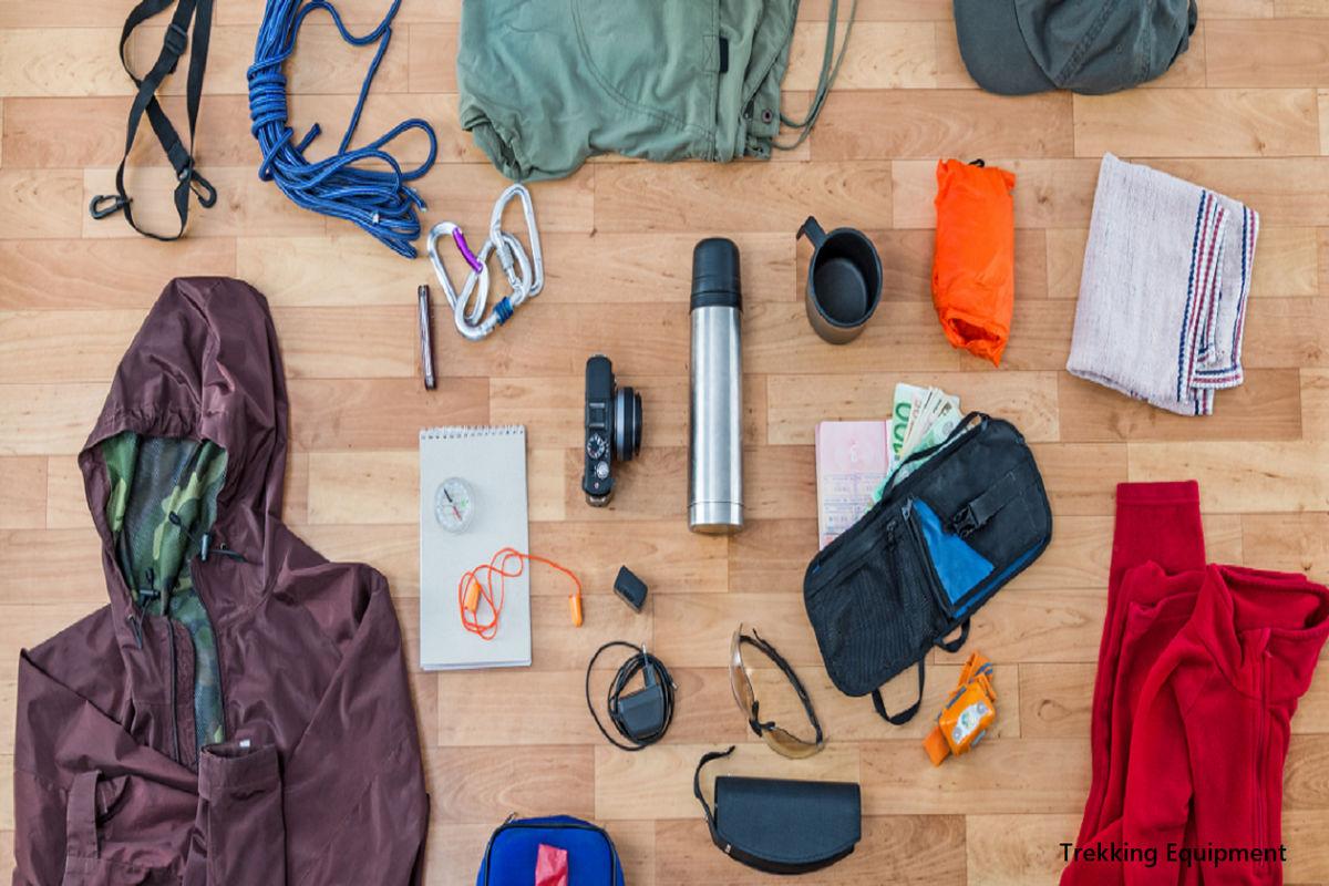 Trekking Equipment Dudhsagar Falls