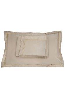 Desert Sand Cotton Bedsheet Set by Veda Homes