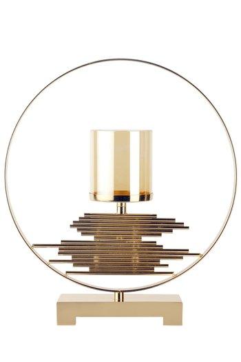 Golden Luxurious Sierra Candleholder by H2H