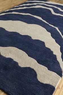 Blue Oriental Rug by Jaipur Rugs