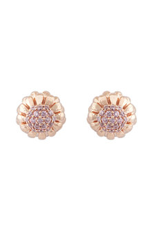 Rose Gold Finish CZ Stone Earcuffs by Mirakin
