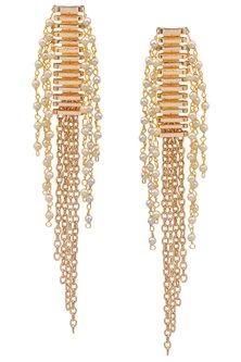 Rose Gold Guitar Chord Earrings by Rejuvenate Jewels