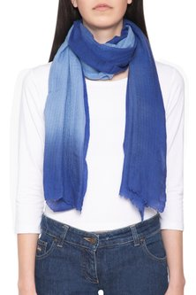 Blue ombre stole by Vilasa