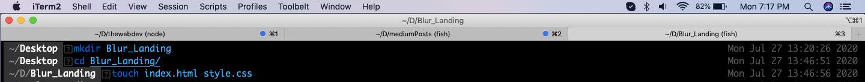Blur_Landing