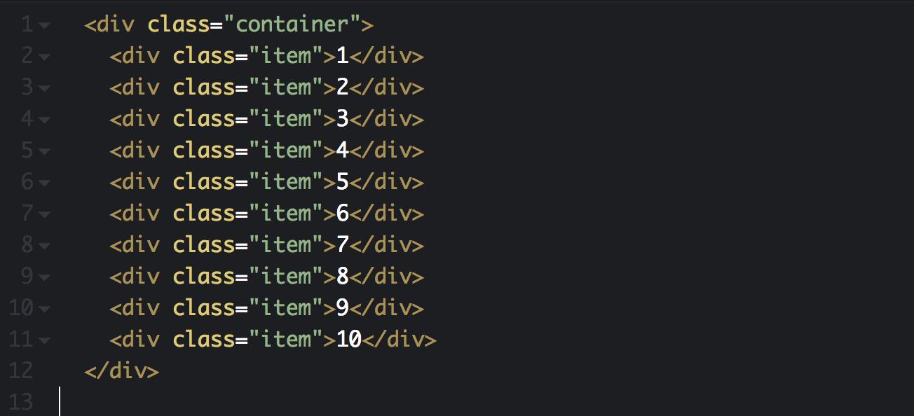 The basic div