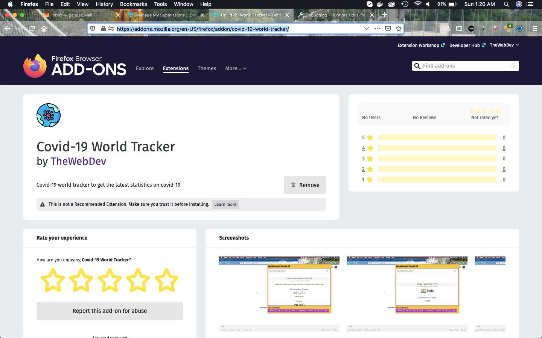 Covid-19 World Tracker