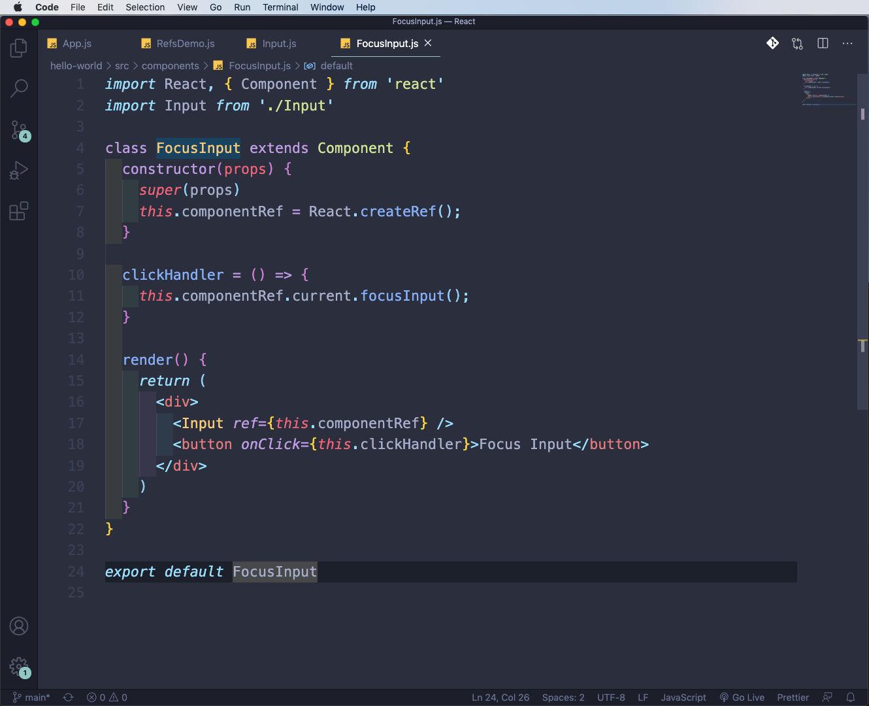 FocusInput.js