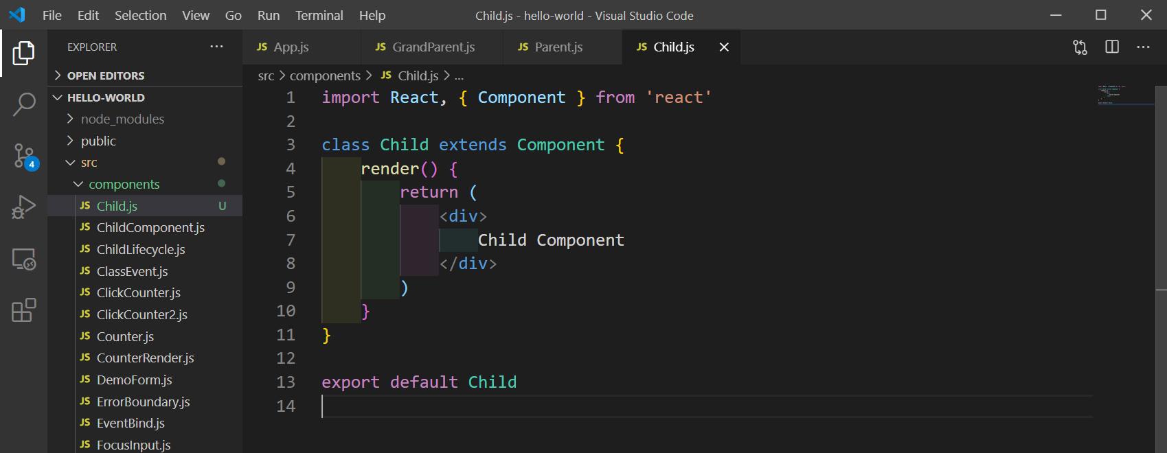 Child.js