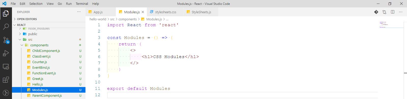 Modules.js