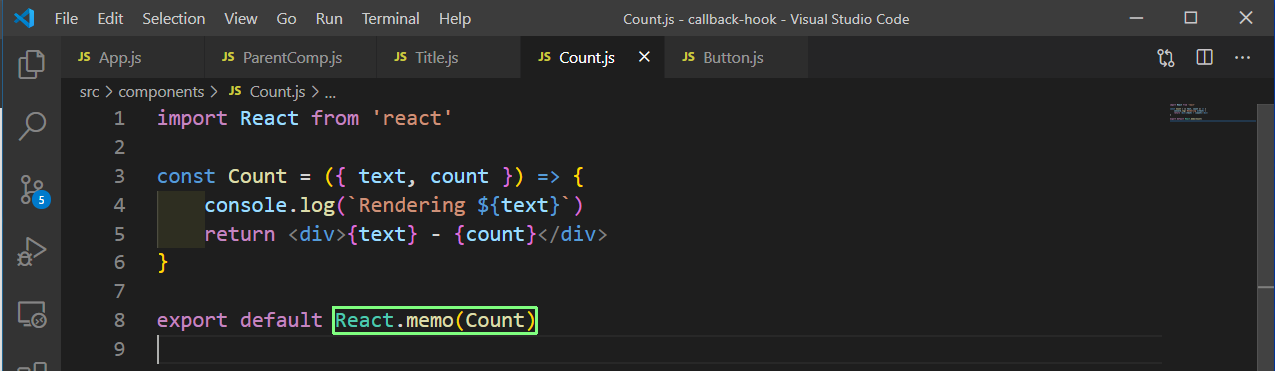 Count.js