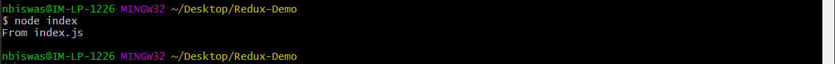 node index