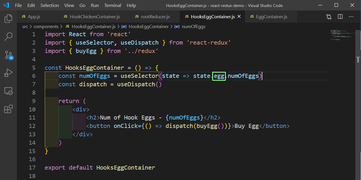 HookEggContainer.js