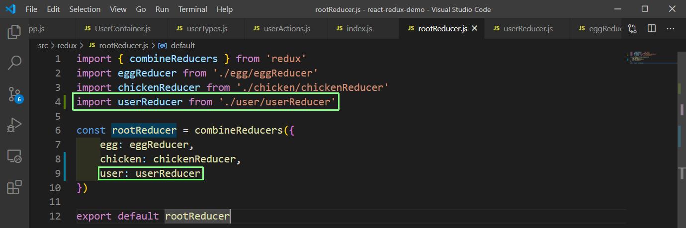 rootReducer.js
