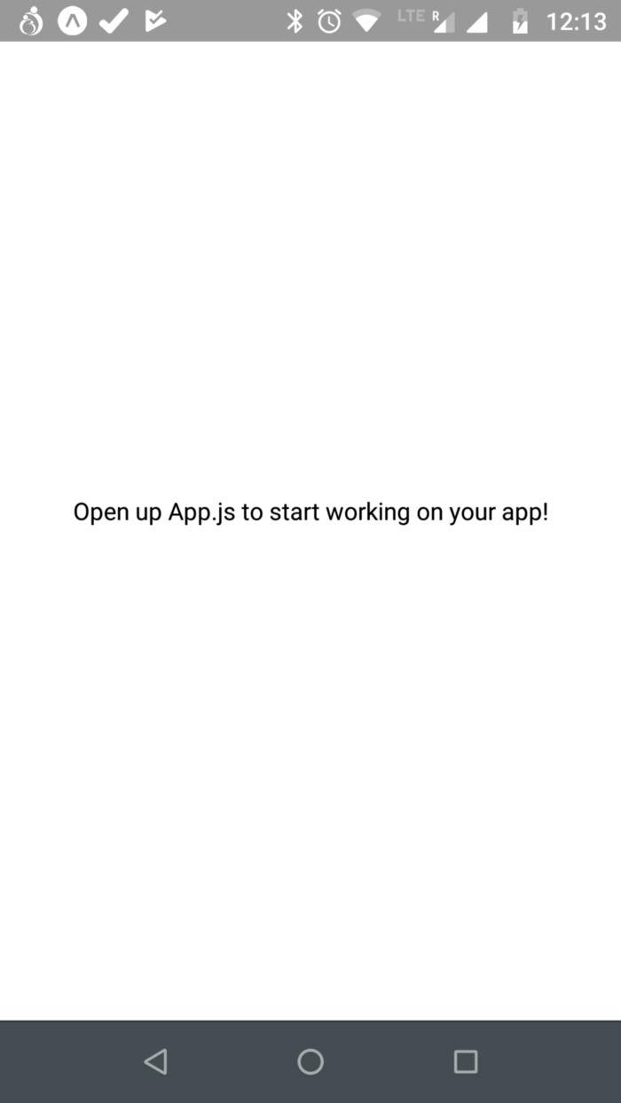 Initial App