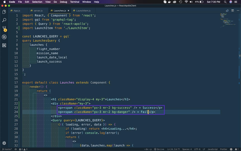Launches.js