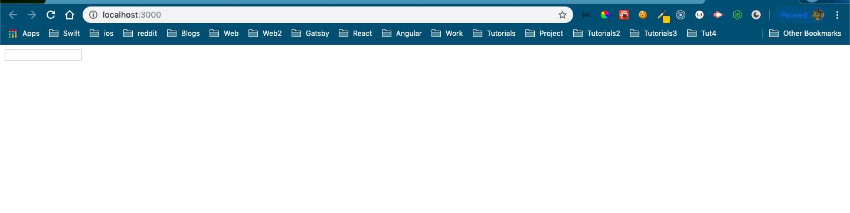 Tiny Searchbar at top-left corner
