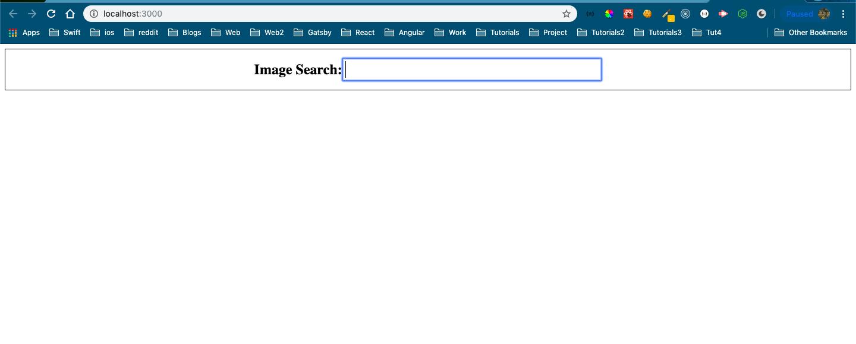 Styled SearchBar