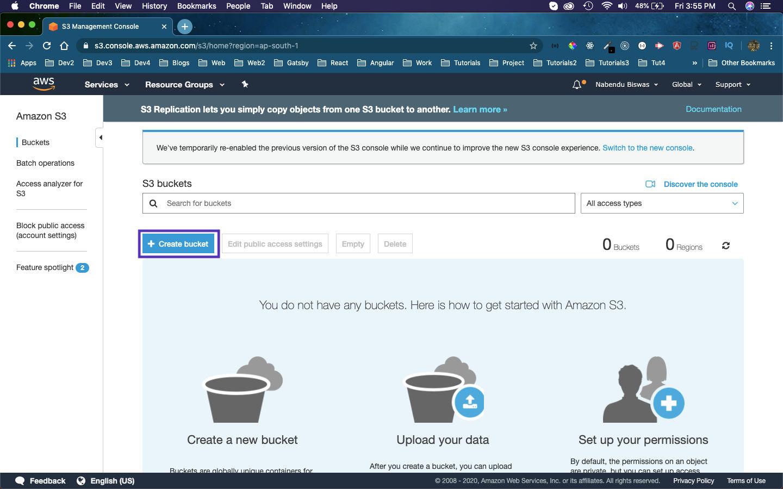 S3 bucket
