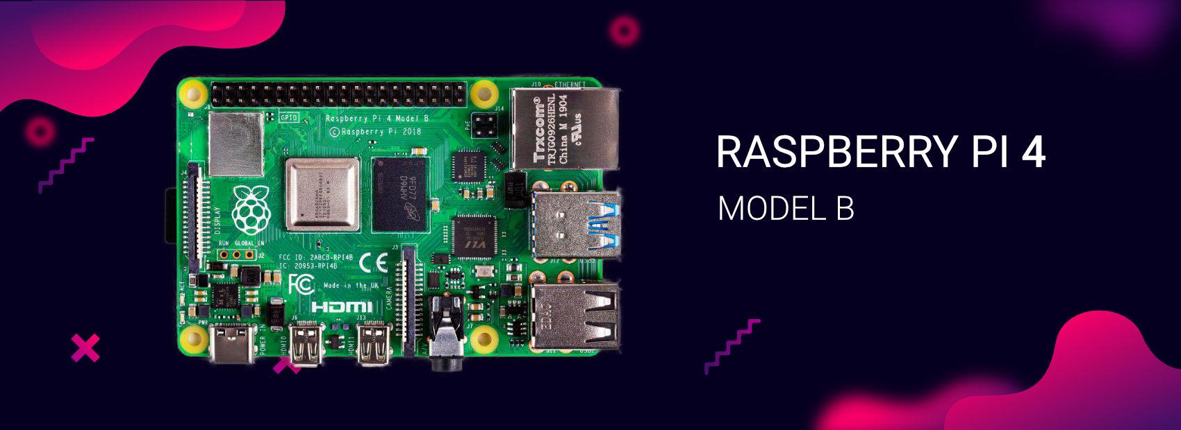 Raspberry Pi 4 Banner