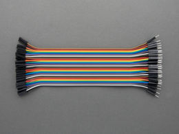 Jumper Wires - 40 pcs - Male to Female - 20 cm