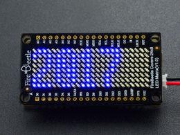 FireBeetle Covers-24×8 LED Matrix (Blue)