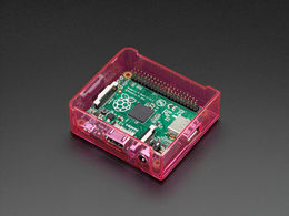 Pi Model A+ Case Base - Pink