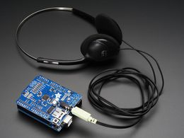 "Adafruit ""Music Maker"" MP3 Shield for Arduino (MP3/Ogg/WAV...)"