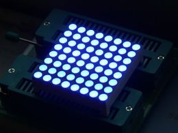 38mm 8*8 square matrix LED matched with Grove- Blue Common Anode
