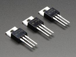 TIP120 Power Darlington Transistors - Pack of 3
