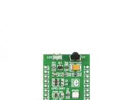 Mikroe IR click - Remote Control Module w/ TSOP38338 Receiver and QEE113 Emitter