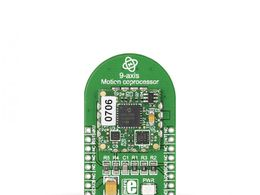 Mikroe 3D Motion click - MM7150 9 Axis Sensor w/ 3 Axis Accelerometer, Gyroscope, Magnetometer and SSC7150 Motion Coprocessor