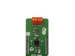 Mikroe RTD click - PT100 RTD Temperature Sensor Amplifier - MAX31865