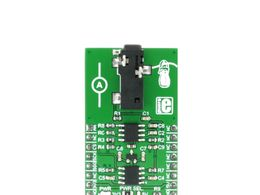 Mikroe AC Current click - MCP3201 12 Bit SAR Analog-to-Digital Converter (ADC) w/ SPI