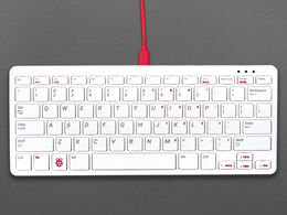 Official Raspberry Pi Keyboard (Red and White)
