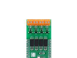 Mikroe Opto 2 click - 4 Channel Optical Isolator (Optocoupler) Module