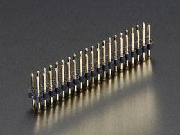 """Break-away 0.1"""" 2x20-pin Strip Dual Male Header"""