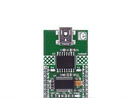 Mikroe USB UART 2 Click - ADUM4160BRWZ USB Port Isolator Module with Mini-B Connector