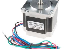 Stepper Motor - 125 oz.in (200 steps/rev, 600mm Wire)