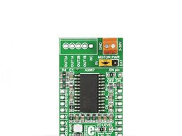 Mikroe STEPPER click - A3967 Bipolar Stepper Motor Driver with Full / Half and Micro Steps