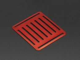 Top Metal Plate for a Mini Robot Rover Chassis