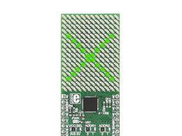 Mikroe 16x12 G click - Green LED Display w/ IS31FL3733 Matrix Driver