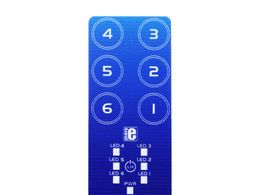 Mikroe Cap Touch 2 Click - 6 Channel Capacitive Touch Keypad Sensor with LED Feedback