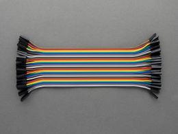 Jumper Wires - 40 pcs - Female to Female - 20 cm