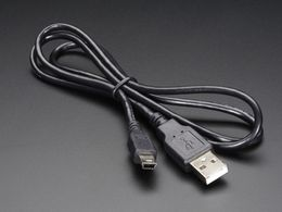 USB cable - A/MiniB - 3ft