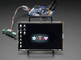 "HDMI 4 Pi: 7"" Display & Audio 1280x800 IPS - HDMI/VGA/NTSC/PAL"
