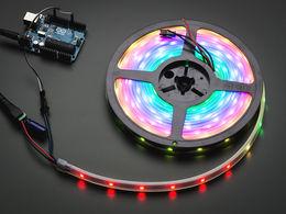 Adafruit NeoPixel RGB LED Strip - Black 30 LED - 1m
