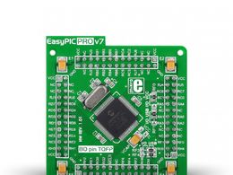 Mikroe EasyPIC PRO v7 MCUcard with PIC18F87J50