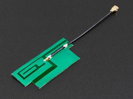Slim Sticker-type GSM/Cellular Quad-Band Antenna - 3dBi uFL