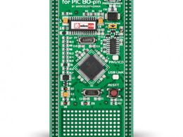 Mikroe mikroBoard for PIC 80-pin with PIC18F8520
