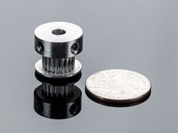GT2 Timing Pulley for 6mm Belt - 20 Tooth - 5mm Bore